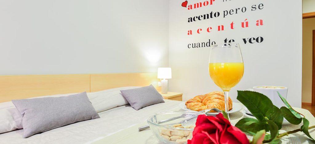 Desayuno Hotel Viñas 17 Teruel